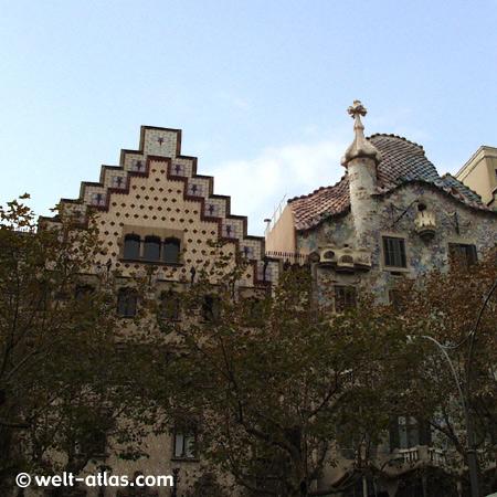 Casa Batlló, Barcelona, Antonio Gaudi