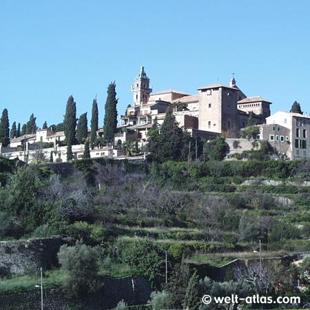 Valldemossa, Mallorca,ehemaliges Kloster, Spanien