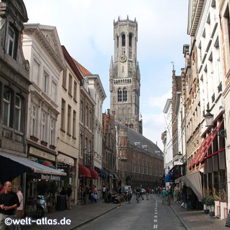 Brügge, Einkaufsstrasse