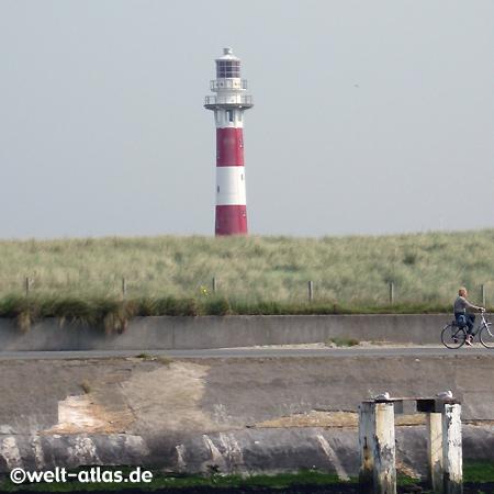 Nieuwpoort, Leuchtturm an der IJzermündung