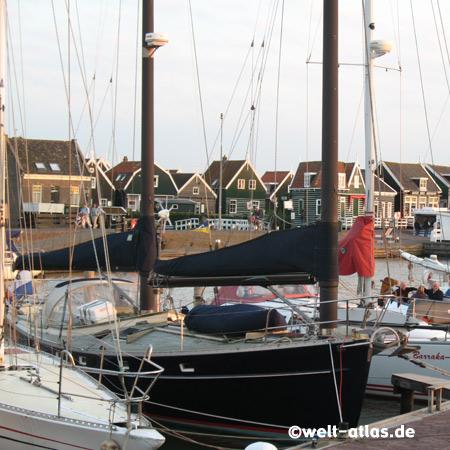 Hafen von Marken in Nord-Holland