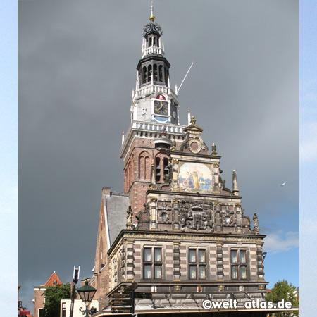 Das Käsemuseum in der alten Waag von Alkmaar