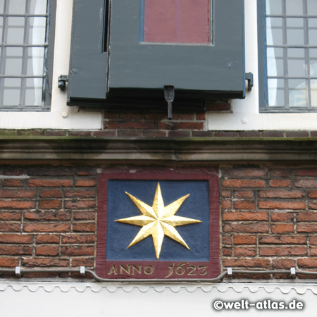 Alkmaar, Hausschmuck, Haus von 1623