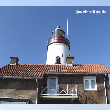 Leuchtturm von Urk Position: 52°39'N 005°35'E