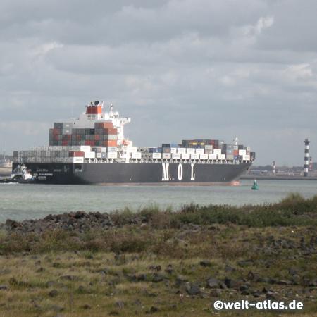 Niederlande, Containerschiff