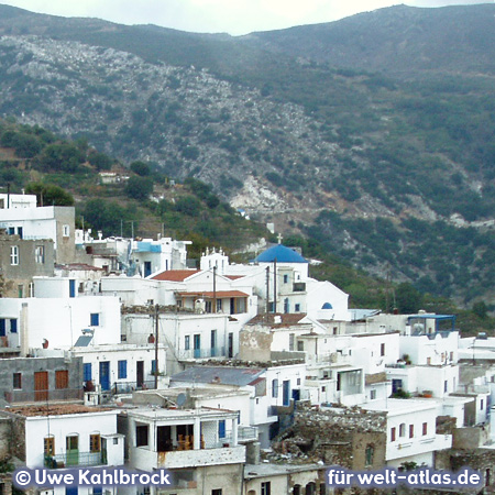 On the island of Naxos