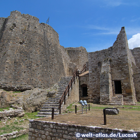 Inside the Castle of Patras