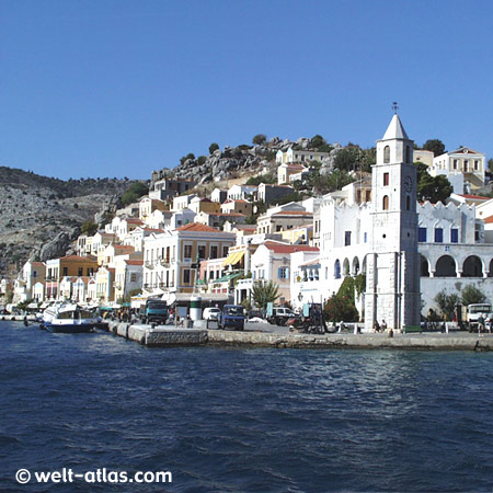 Symi, Clock Tower, Dodecanese