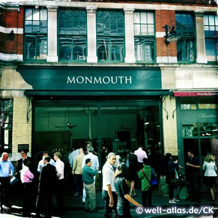 Monmouth Coffee, der beste Kaffee der Stadt – Borough Market