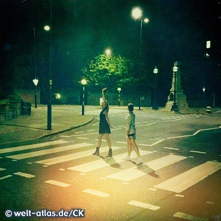 Der Beatles-Zebrastreifen in der Abbey Road steht unter Denkmalschutz