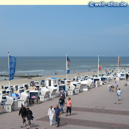 foto strandpromenade westerland sylt welt. Black Bedroom Furniture Sets. Home Design Ideas