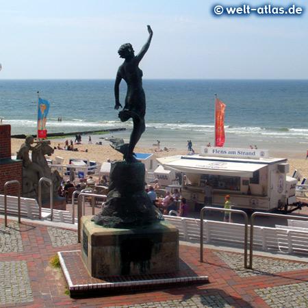 Foto Statue Westerland Auf Sylt Welt Atlas De