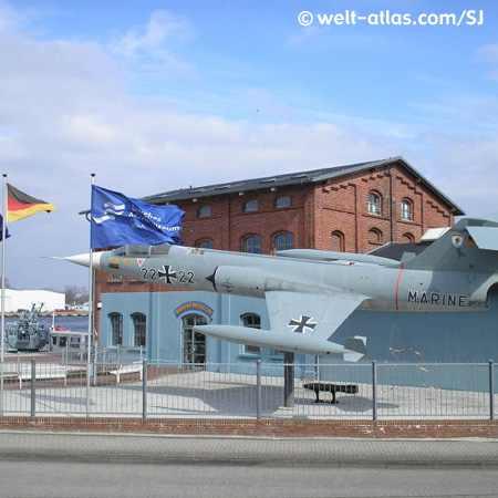 Kampfjet des Förderverein Deutsches Marinemuseum e.V. in Wilhelmshaven