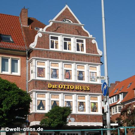 Dat Otto Huus, Museum und Shop in Emden am Hafen