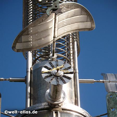 Detail des Sous-Turms auf dem Marktplatz in Aurich