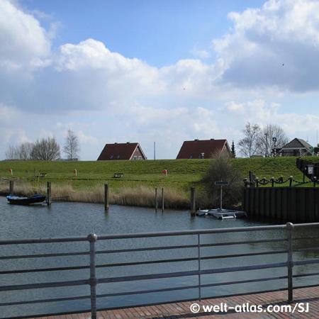 Hafen in Hooksiel