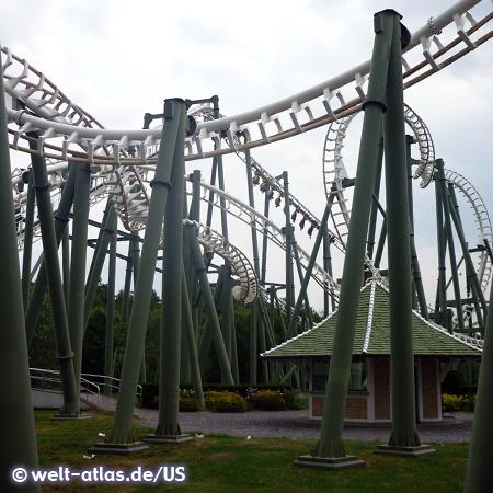 Photo Big Loop Heide Park Soltau Welt Atlasde