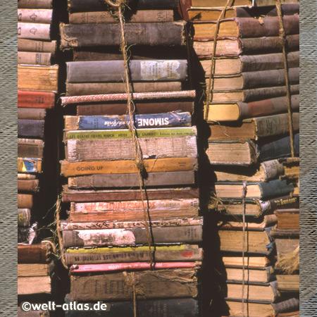 """In der """"Büchergasse"""" in der Plaka (Altstadt)"""