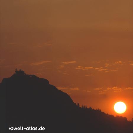 Sonnenuntergang am Lykabettos, Athen