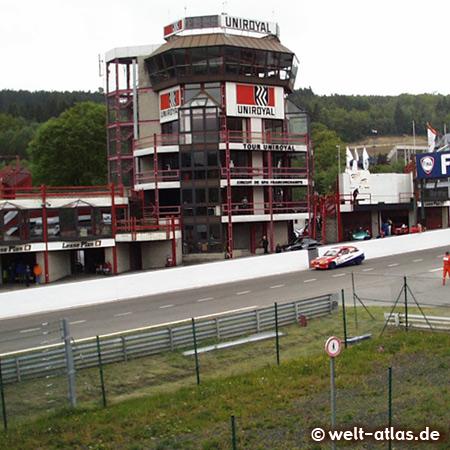 Foto von Rennstrecke Spa-Francorchamps in Belgien