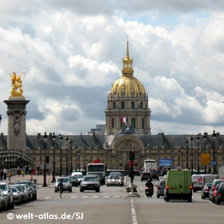 Hôtel des Invalides and Dome church