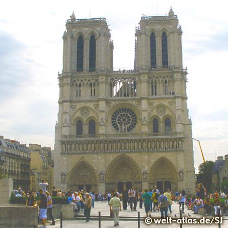 Notre Dame de Paris, Our Lady of Paris, gothic cathedral
