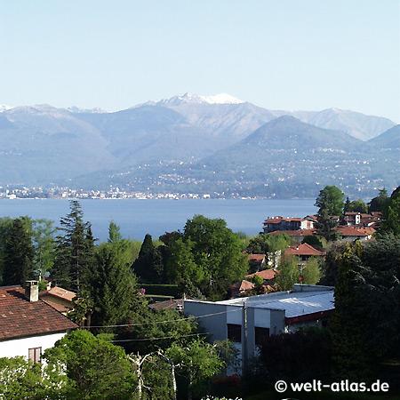 Cerro, Blick auf See und Berge Richtung Verbania