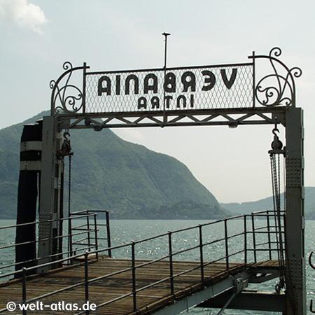 Verbania, Intra, ferry, Lago Maggiore, Lombardy, Italy