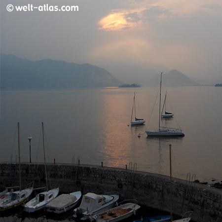 Sunset, Cerro di Laveno, Lago Maggiore
