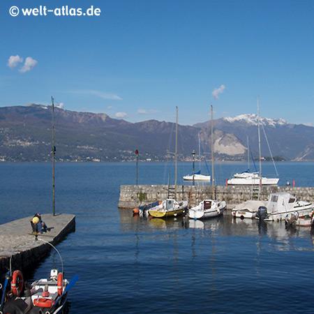 Cerro, Hafen, Blick über den See