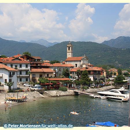 Feriolo on the Borromean Gulf of Lake Maggiore