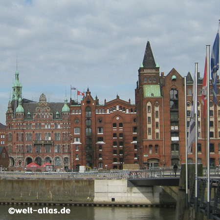 photo speicherstadt hafencity hamburg welt. Black Bedroom Furniture Sets. Home Design Ideas