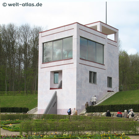 Schloss Gottorf, neues Globushaus, Gottorfer Globus