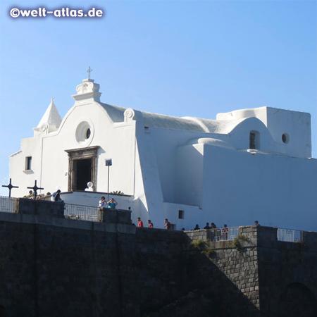 Ischia, Forio, the church Santa Maria del Soccorso