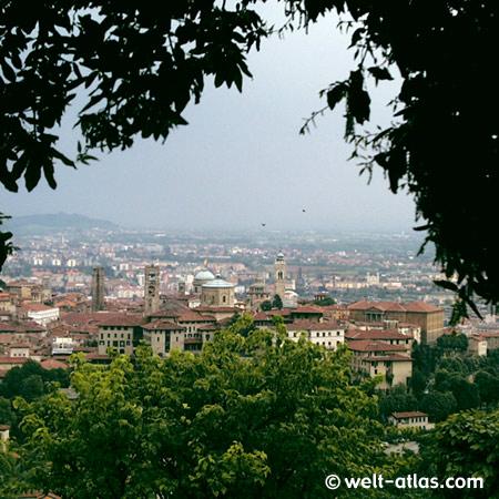 Bergamo Alta, Lombardei, Italien