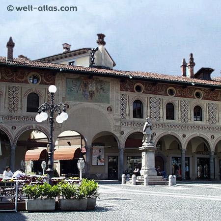 Vigévano, Lombardei, Piazza Ducale