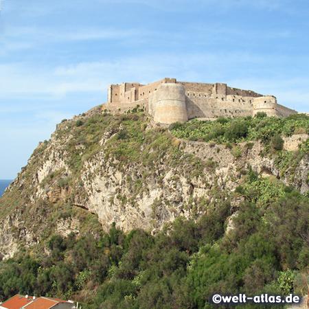 Das mittelalterliche Kastell von Milazzo