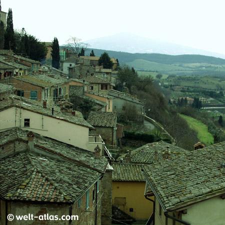 Montepulciano in der Toskana