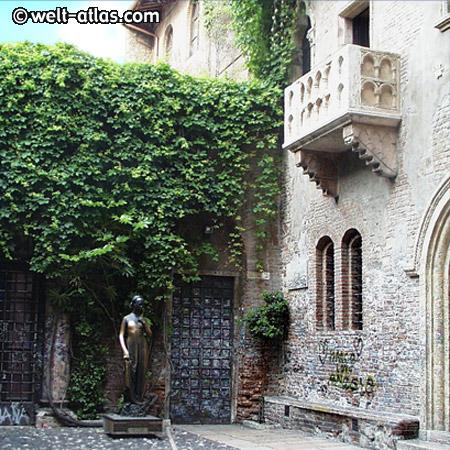 Verona, Julias Balkon