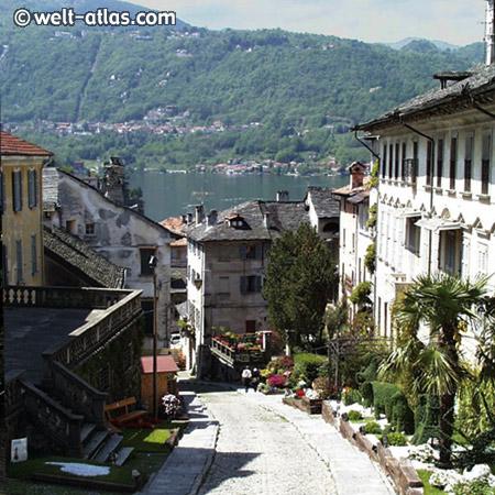 Orta, Ortasee, Piemont