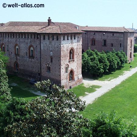 Vigévano, Castello Sforzesco, Lombardei