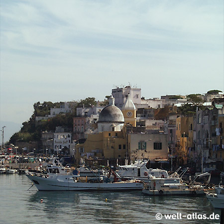 Insel Procida, Marina Grande, Golf von Neapel