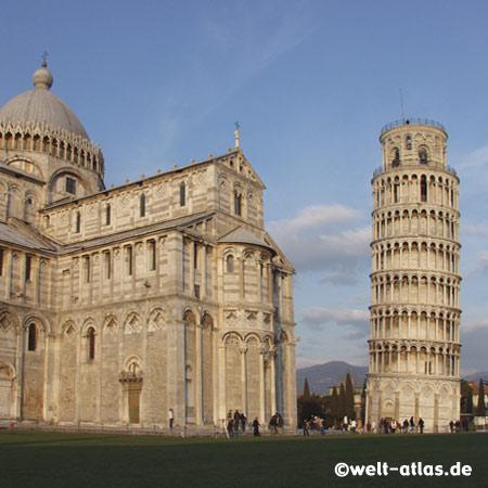 "Pisa, Toskana, ""Schiefer Turm"" und Kathedrale Dom Santa Maria Assunta"
