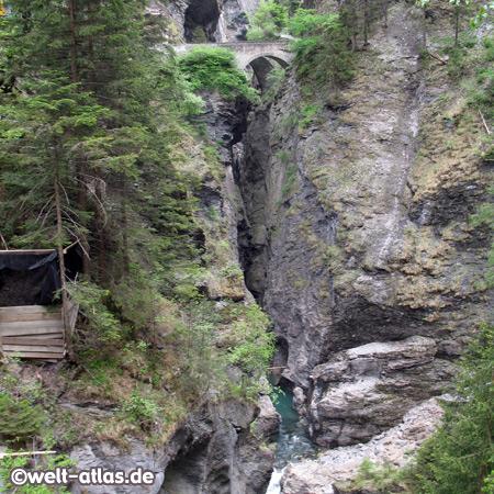 Via Mala Gorge, Hinterrhein River, Graubünden, Switzerland