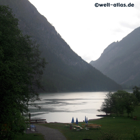 Heiterwanger See, Lake Heiterwang, Tyrol, Austria