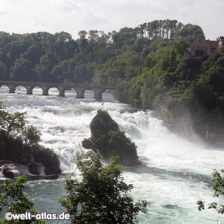Rheinfall bei Schaffhausen, Schweiz