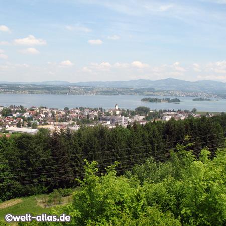 Pfäffikon, Insel Ufenau, Zürichsee, Schweiz