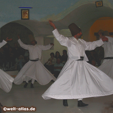 Whirling Dervishes Ceremony, Dervish House in an Underground Cave