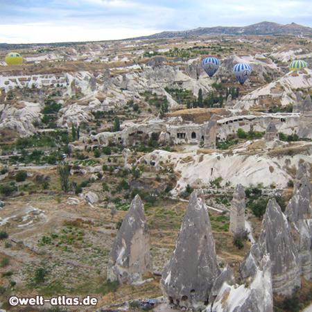 Göreme Valley, Hot Air Ballooning