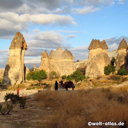 Fairy Chimneys at Pasabag Valley (Monks Valley)